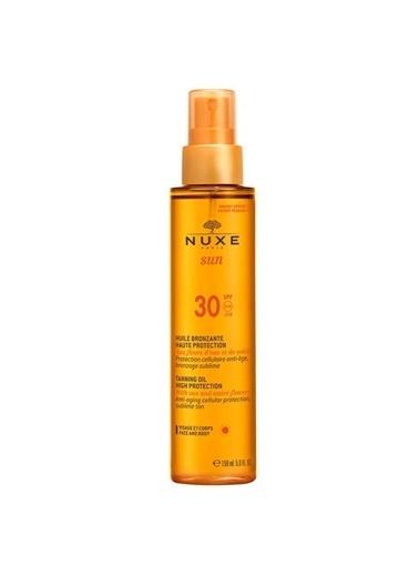 Nuxe NUXE Sun Huile Solaire SPF 30 150 ml Renksiz